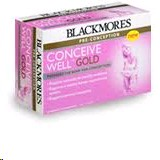 Blackmores Conceive Well Caps and Tabs