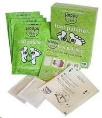 Happy Feet Foot Patches - Detoxification 5 pairs