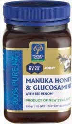Manuka Honey and Glucosamine with Bee Venom
