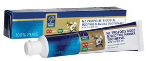 Manuka Honey + Propolis Toothpaste -Manuka Health