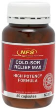 NFS Cold-Sor Relief Max Caps