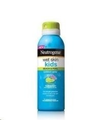 Neutrogena Wet Skin Kids Sunblock Spray SPF 70+