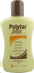 Polytar Plus Liquid Shampoo