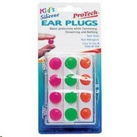 Protech Ear Plug Kids Silicone 6 pairs