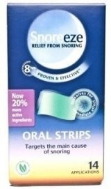 Snoreeze Oral Strips