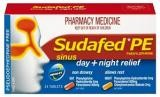 Sudafed PE Nasal Decongestant Day and Night Relief