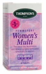 Thompsons Femmefort Womens Multi Tablets